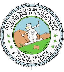 Hiking Club's Official Seal